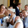 The England Women's Football Team Attend Reception At Kensington Palace