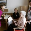 Queen Silvia Of Sweden Visits Dementia Patients At St. Hildegardis Hospital