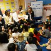 New York Mayor Bill de Blasio Visits Inner Force Early Childhood Learning Center