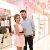 TV personality, fashion designer, and author Lauren Conrad and musician William Tell attend the 'Lauren Conrad Celebrate' book launch party at Kohl's Showroom on March 23, 2016 in New York City.