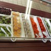 A new salad bar is seen at Nettelhorst Elementary School, part of 'Cool Foods' March 20, 2006 in Chicago, Illinois.