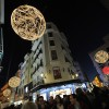 Christmas Lighting and Atmosphere in Madrid