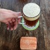 This picture taken on April 19, 2016 shows a beer made from a Babylonian recipe at the smallest German brewery 'Schlossplatz Brauerei' in Berlin's Koepenick district.