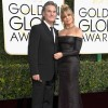 Actors Kurt Russell (L) and Goldie Hawn attend the 74th Annual Golden Globe Awards at The Beverly Hilton Hotel on January 8, 2017 in Beverly Hills, California.