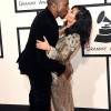 Kim Kardashian and Kanye West Celebrate Valentine's Day in Classic Way.